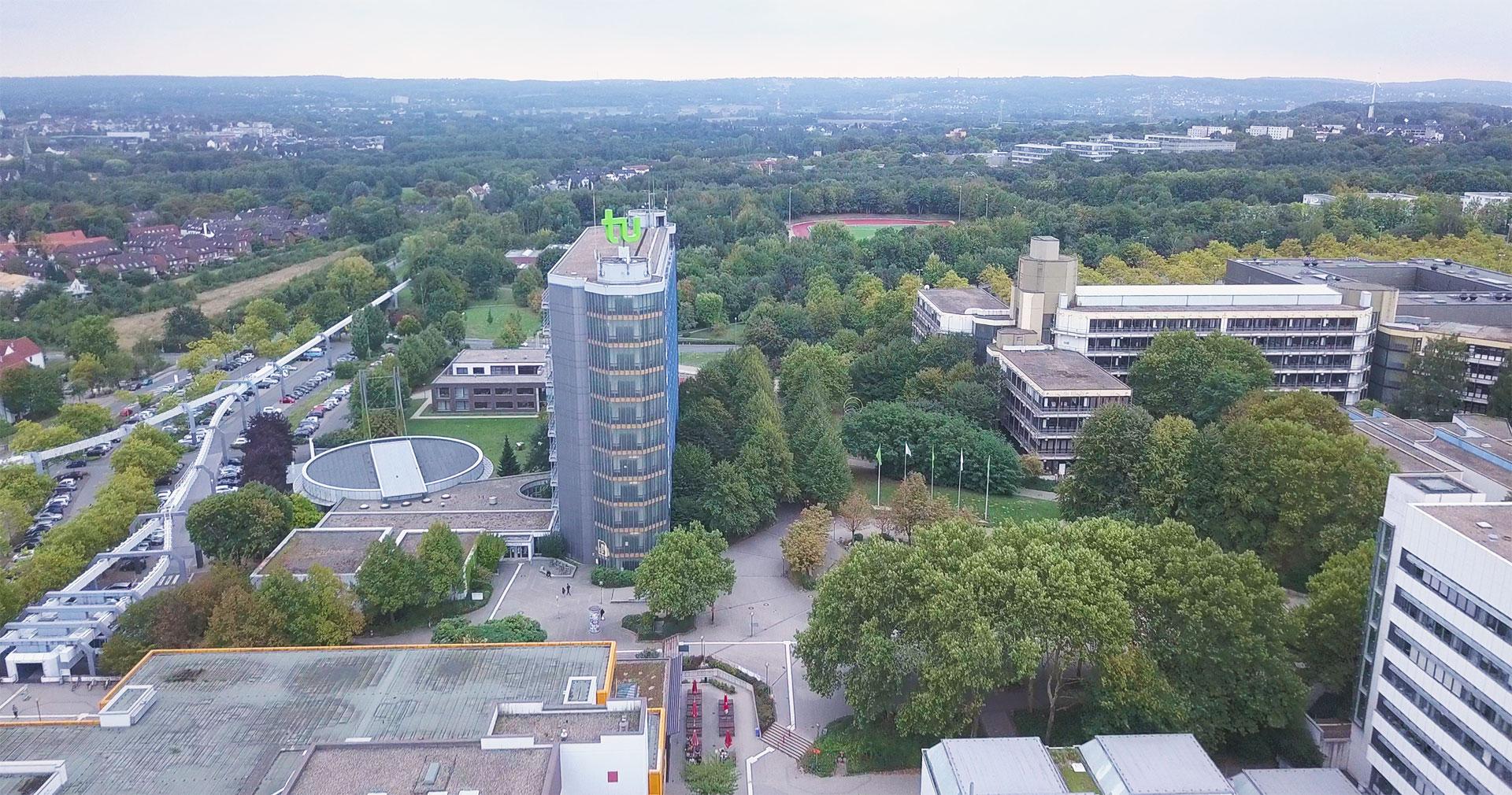 Interieurfotografie und Luftaufnahmen rund um Dortmund